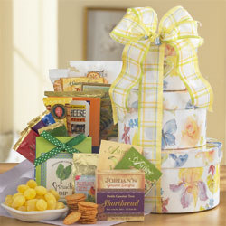 Springtime Surprise Gourmet Gift Tower data-pin-no-hover=