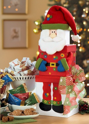 Santa Surprise Gift Tower image