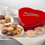 Mrs. Fields Classic Heart Tin