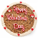Mrs. Fields Valentines Round Cookie Cake