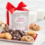Mrs. Fields Happy Holidays Mini Ribbon Nibbler Box