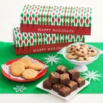 Mrs. Fields Happy Holidays Cookie & Brownie Bite Trunk
