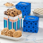 Mrs. Fields Hanukkah Candle Mini Ribbon Nibbler Box