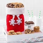 Mrs. Fields Snowflake Nibbler Cookie Tote