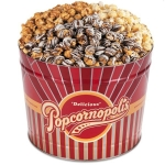 Popcornopolis Gourmet Variety 2 Gallon Winter Tin