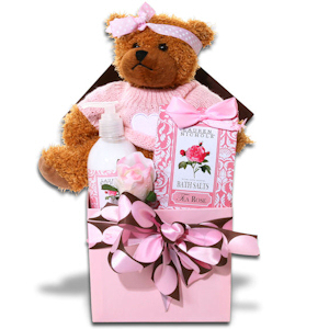Pretty in Pink Spa Gift Box imagerjs