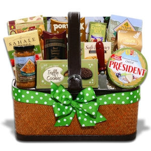 Thinking of You Meat & Cheese Gift Basket imagerjs