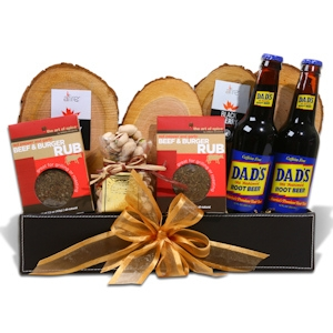 Gourmet Grilling for Dad Gift Basket imagerjs