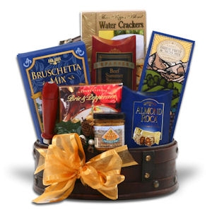Gourmet Gatherings Gift Basket imagerjs