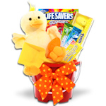 Ducky Treats Easter Pail