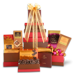 Godiva Luxury Chocolate Tower Collection imagerjs