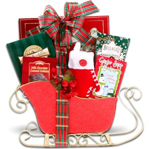Holiday Sleigh Basket imagerjs