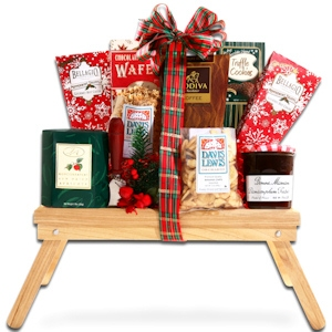 Christmas Morning Gift Tray imagerjs