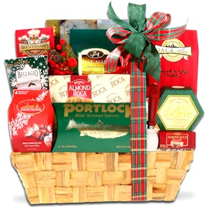Traditional Holiday Basket imagerjs