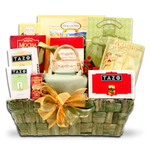 Holiday Tazo Tea Basket imagerjs