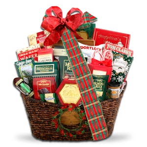 Grand Holiday Traditional Basket imagerjs