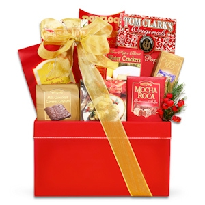 Holiday Gourmet Snack Basket imagerjs