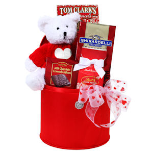 Teddy Bear Valentine Box imagerjs