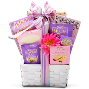 Chocolate & Cookies Gift Basket imagerjs