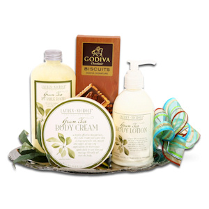 Spa and Godiva Gift Tray imagerjs