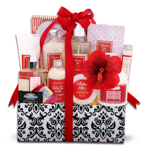 Uptown Mom Spa Gift Basket imagerjs