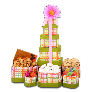 Mother's Day Tower of Treats imagerjs