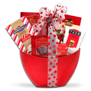 Warm Holiday Wishes Gift Basket imagerjs