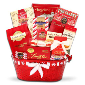 Santa's Little Helper Christmas Food Basket imagerjs