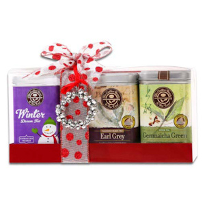 Coffee Bean and Tea Leaf Holiday Tea Sampler imagerjs