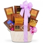 Golden Godiva Timeless Treasures Gift Tub