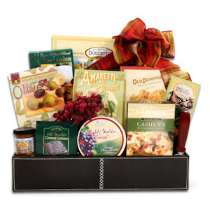 Vineyard Christmas Gourmet Basket imagerjs