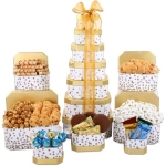 Grand 7 Tier Holiday Food Gift Tower