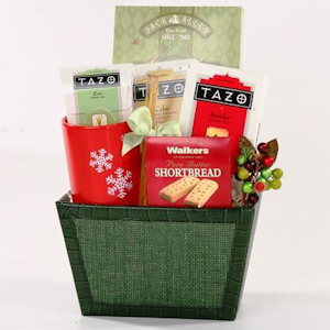 Holiday Tea Time Gift Basket imagerjs