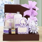 Scents of the Holiday Season Lavender Bath Gift Box