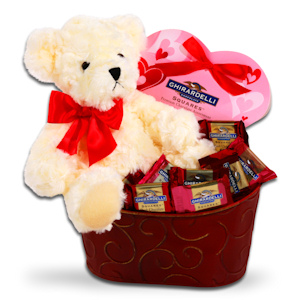 Ghirardelli Chocolate Valentine's Gift imagerjs