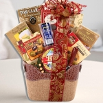 The Connoisseur Gourmet Holiday Gift Basket