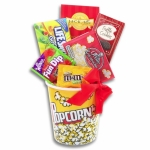 Movie Night Holiday Snack Bucket