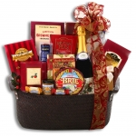 Holiday Elegance Gourmet Gift Basket