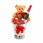 Toasting Love Gift Basket