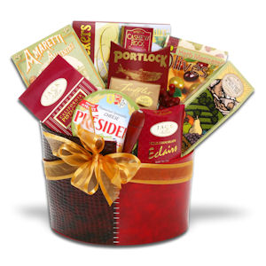 Say Everything Holiday Gourmet Gift Basket imagerjs