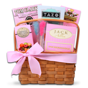 New Mom Tazo Tea Basket imagerjs