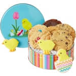 Baby Chick Easter Cookie Tin