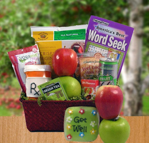 An Apple a Day Get Well Snack Basket imagerjs