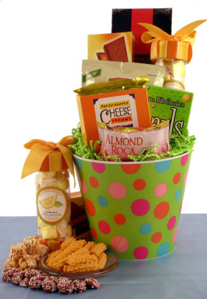 Delicious Dots Gift Bucket image