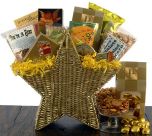 Thank My Lucky Star Gift Basket data-pin-no-hover=