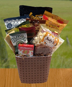 Manly Munchies Gift Basket imagerjs