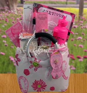 Breast Cancer Survivor Gift Basket imagerjs
