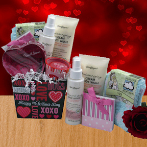 Valentine Ladies Choice Gift Basket imagerjs