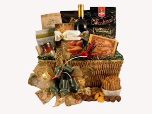 Holiday Happenings Gourmet Gift Basket imagerjs