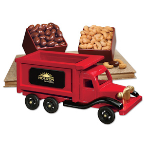 1950 Dump Truck with Almonds & Cashews imagerjs